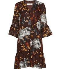 kilaiw tanya dress kort klänning brun inwear