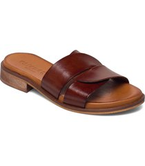 riley shoes summer shoes flat sandals brun pavement