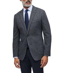 men's bonobos slim fit knit sport coat, size 44 regular - grey