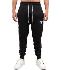 pantalón jogger catflag negro gangsta