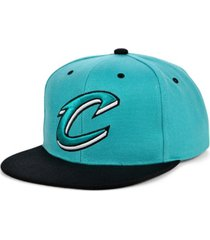 mitchell & ness cleveland cavaliers minted snapback cap