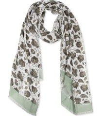 rebecca minkoff lotus fringe long scarf