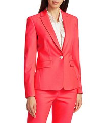 lexington classic tailor-fit stretch-wool twill blazer