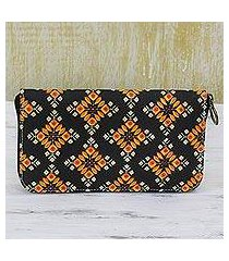cotton wallet, 'spring sunrise' (india)