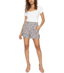 sanctuary the island printed utility shorts