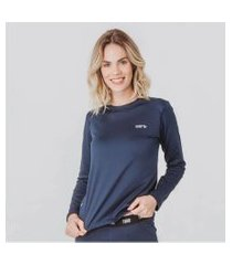 blusa térmica feminina segunda pele thermo premium lite regular fit
