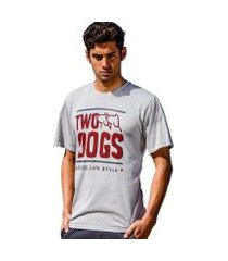 camiseta cool life two dogs