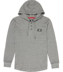 ecko unltd men's hooded stunner thermal hooded sweatshirt