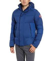 men's canada goose armstrong 750 fill power down jacket, size large - blue