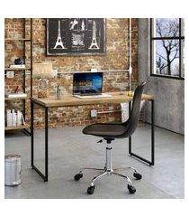 mesa de escritório studio carvalho 120 cm