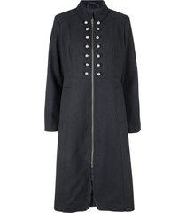 cappotto in stile militare (nero) - bpc bonprix collection