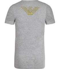 emporio armani t-shirt crew neck grey