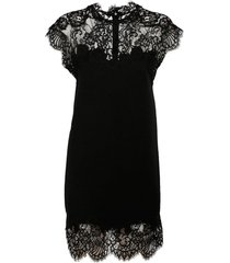 ermanno scervino double t mini dress