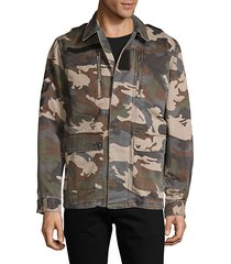 kido camo shirt jacket