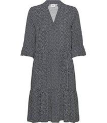 edasz dress knälång klänning svart saint tropez