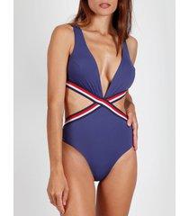 badpak admas 1-delig sport trikini zwempak beach