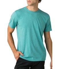 men's prana slim fit crewneck t-shirt, size xx-large - blue