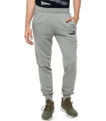 pantalón gris puma ess slim
