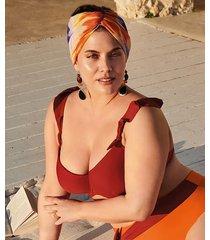 hunkemöller formpressad bikinitopp med bygel paramaribo i am röd