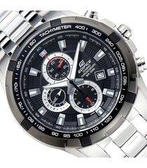 reloj casio para hombre ef 539d 1a cronografo taquimetro
