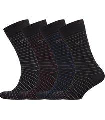 cr7 4-pack socks giftbox underwear socks regular socks svart cr7