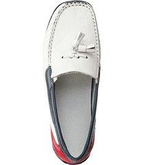 loafers naturläufer vit::röd::blå