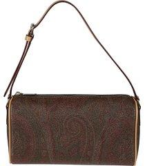 etro classic paisley book shoulder bag