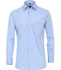 casamoda heren overhemd licht poplin ml7 modern fit