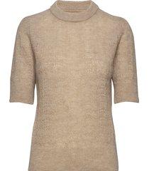 veneda pullover gebreide trui beige nué notes