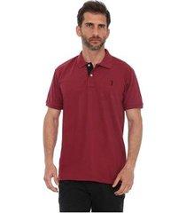 camisa polo golf club slim masculina