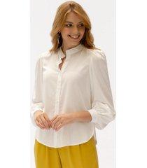 blusa adrissa detalle de brillo y recogidos