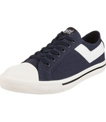 zapatilla azul pony shooter ox canvas