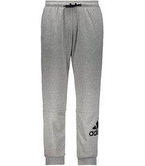 calça adidas bos pnt athletics cinza