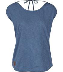 top in jersey con scollo sulla schiena (blu) - bpc bonprix collection