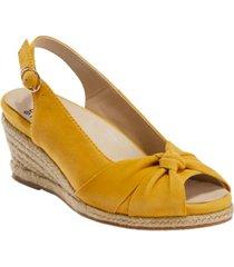 earth women's thara bermuda sling back espadrille sandal women's shoes