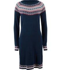 abito in maglia (blu) - bpc bonprix collection