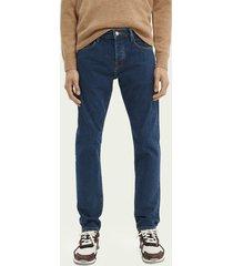 scotch & soda ralston regular slim-fit jeans — enigma blue