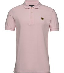 polo shirt polos short-sleeved rosa lyle & scott