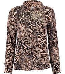 blouse vera bruin