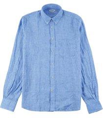 slim fit daniel shirt blauw