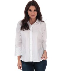 only womens grace cotton shirt size 10 in white
