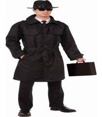 buyseasons men's secret spy trench coat costume