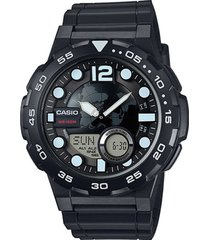 reloj aeq-100w-1a casio negro