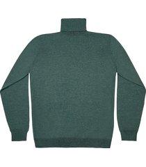 maglione da uomo, lanieri, extra fine verde salvia, quattro stagioni | lanieri