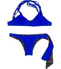 bikini azul innocenza reversible