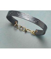 diamond diagonals bracelet