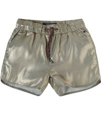 shorts soft gold tommy hilfiger
