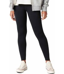 converse legging mountain club warmth black