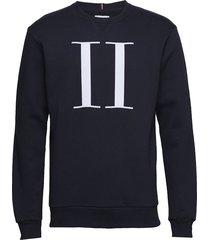 encore sweatshirt sweat-shirt tröja blå les deux