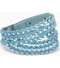 braccialetto swarovski power collection, turchese